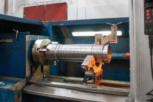 Механическая обработка трубы