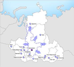 Гидротехтрейд – представительство в Красноярском крае
