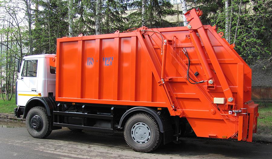 Ремонт гидравлики мусоровоза