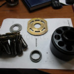 Гидромотор EATON 74315DAS в разборе