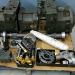 Ремонт главного гидронасоса экскаватора Liebherr 9250
