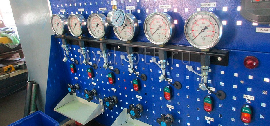 Стенд для испытаний насосного и моторного оборудования