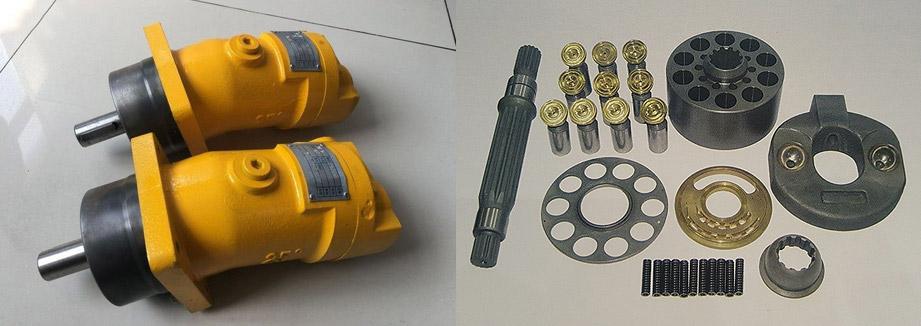 Запчасти для гидромотора Bosch Rexroth A2FM12