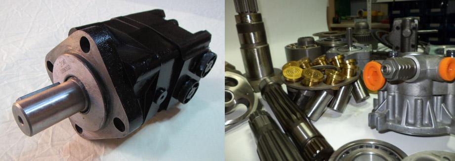Запчасти для гидромотора Linde HMV55