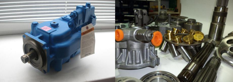 Запчасти для гидронасоса Vickers PVE012