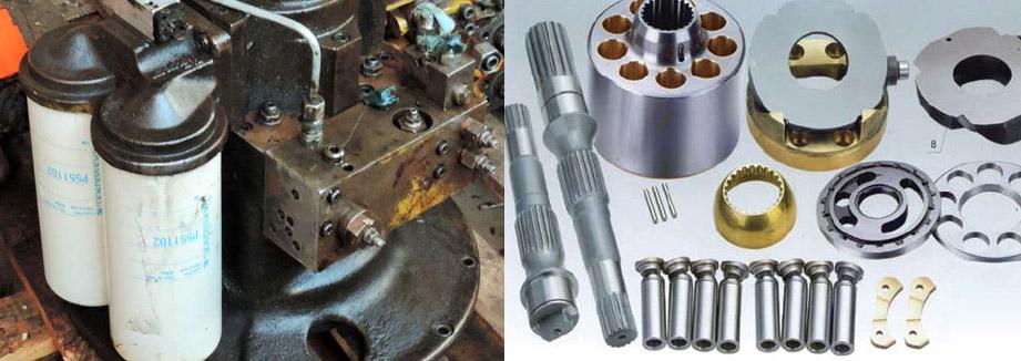 Запчасти для гидронасоса Bosch Rexroth A2FO160