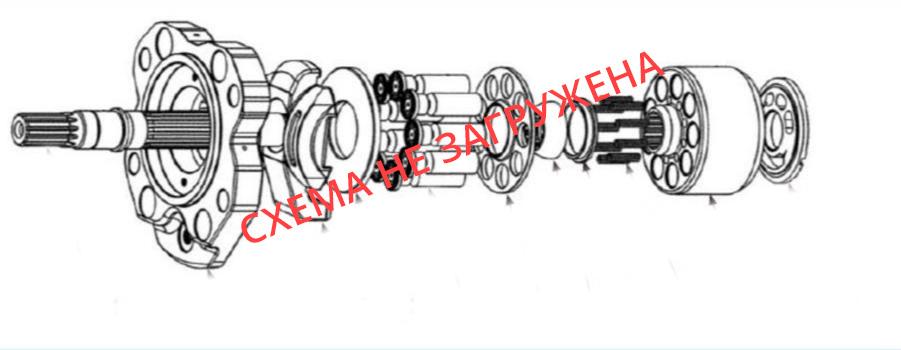 Схема гидронасоса SBS120