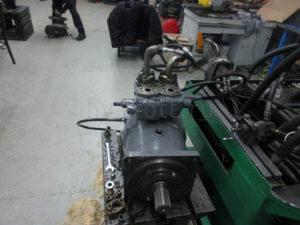 Ремонт гидромотора Kawasaki MX750