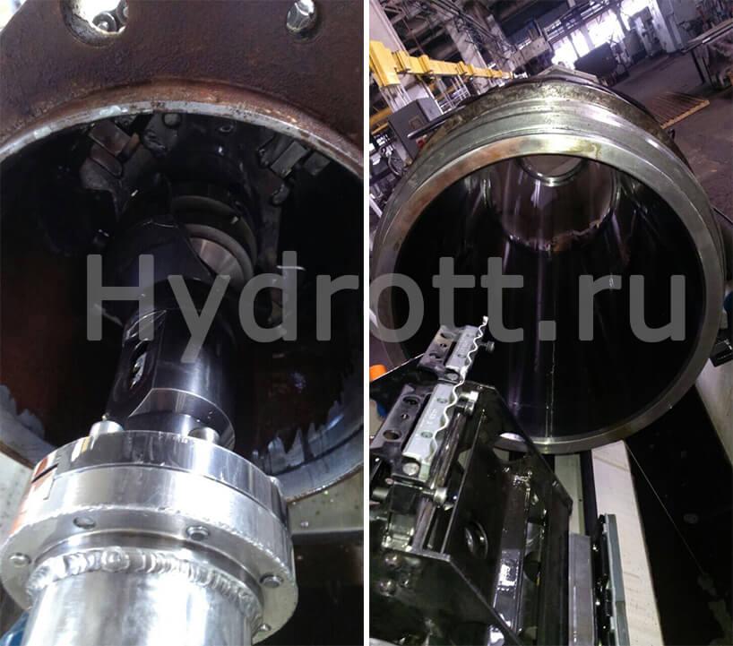 Процесс производства гильз гидроцилиндров