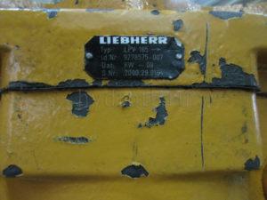 Запчасти для гидронасосов Liebherr