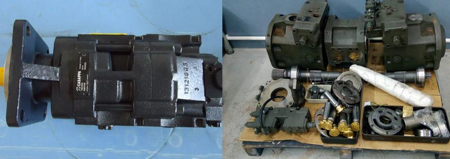 Запчасти для гидронасоса Bosch Rexroth A2FO225