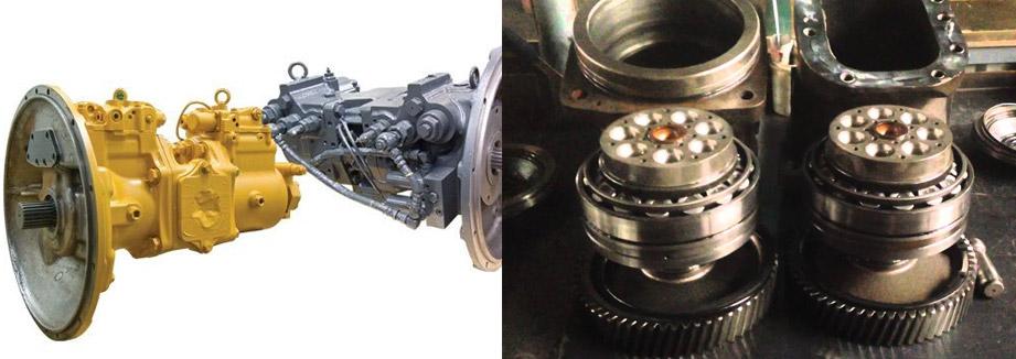 Запчасти для гидромотора Hitachi ZAX120
