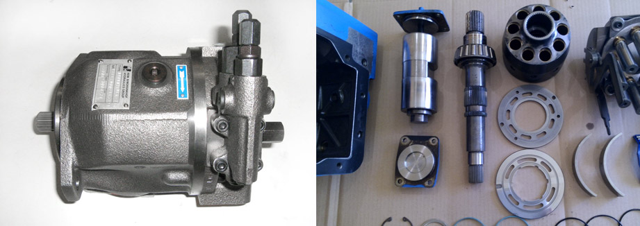 Запчасти для гидронасоса Bosch Rexroth A4VSO71