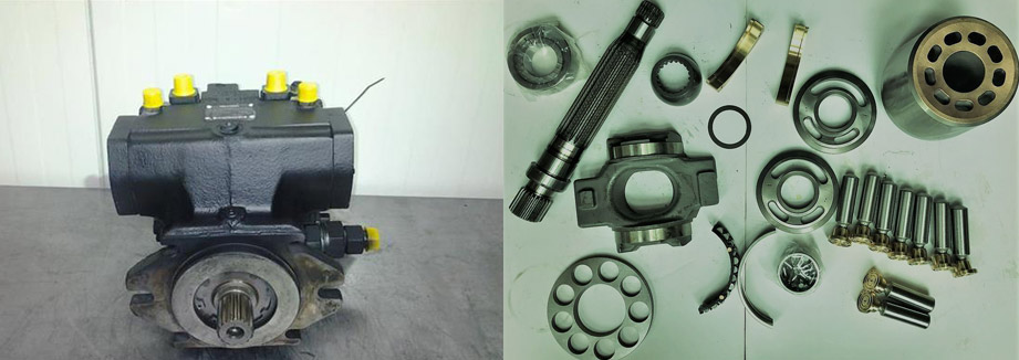 Запчасти для гидронасоса Bosch Rexroth A4VSO50