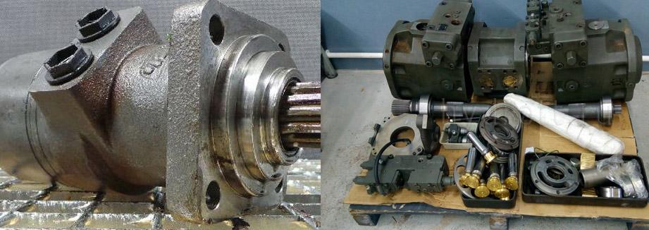 Запчасти для гидромотора SamHydraulik SH5V75