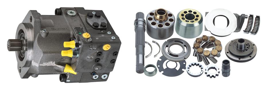 Запчасти для гидронасоса Bosch Rexroth A6VO160